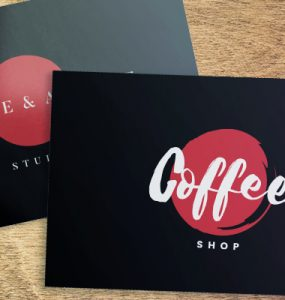 matte and glossy business cards