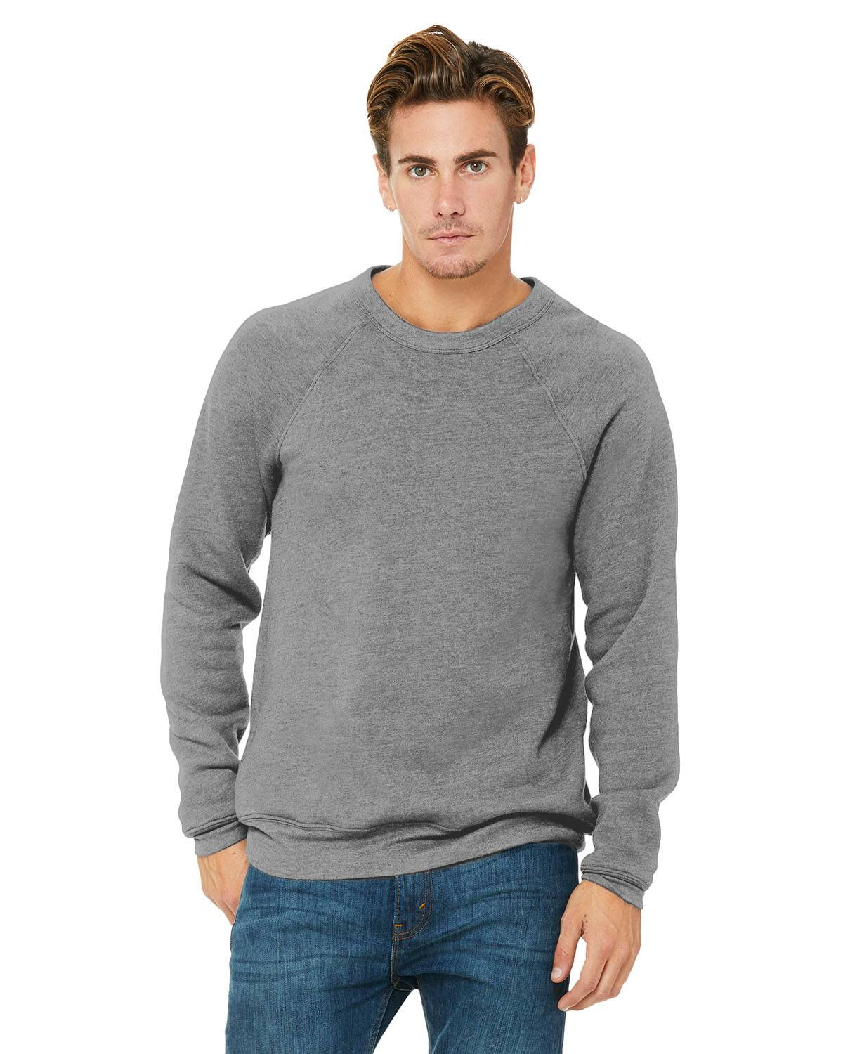 Bella + Canvas Unisex Sponge Fleece Crewneck Sweatshirt | 3901