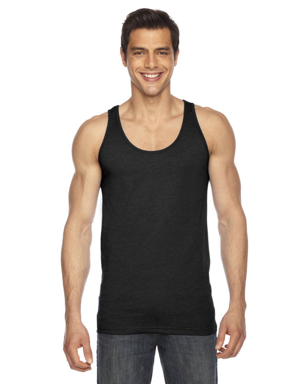 American Apparel Unisex Poly-Cotton Tank | BB408W