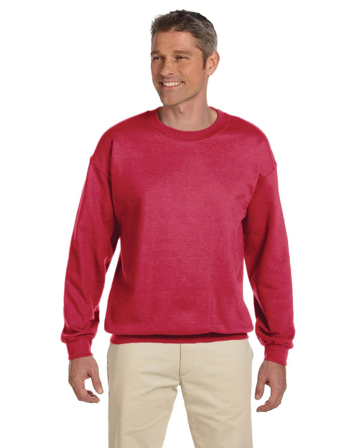 Gildan Adult Heavy Blend 13.3 oz./lin. yd., 50/50 Fleece Crew | G180