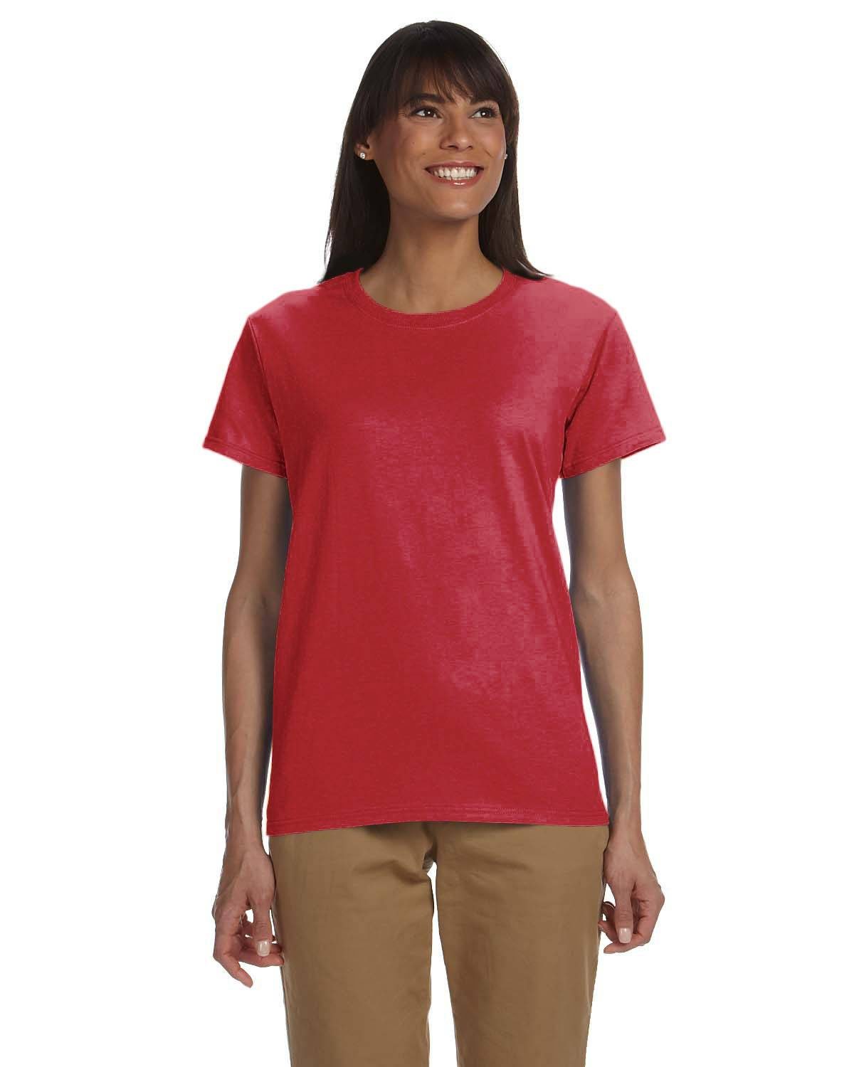 Gildan Ladies' Ultra Cotton 10 oz./lin. yd. T-Shirt | G200L