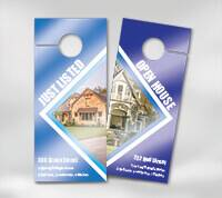 UV (High Gloss) Door Hangers