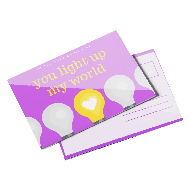 Postcards 14pt Writable + UV (C1S)