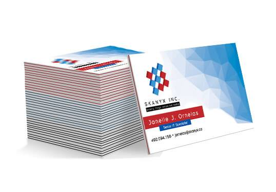 Business Cards 38PT Luxury