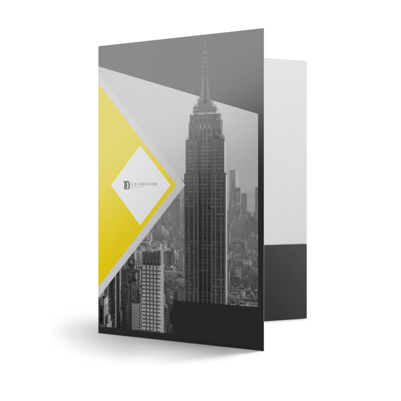 Presentation Folders Standard Matte Finish