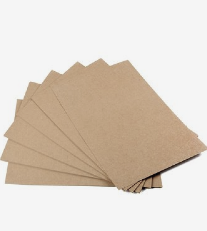 Unique Kraft Greeting Cards