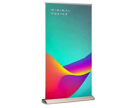 wide premium pull up banners